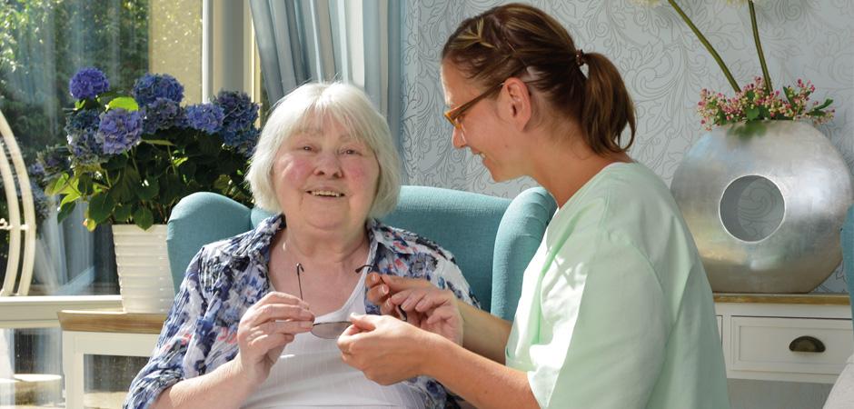 Pflege bei der Bremer Heimstiftung